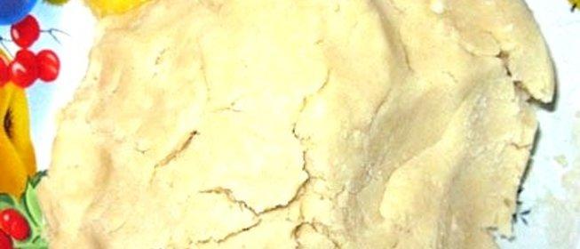 Тесто хрущевское пошаговый рецепт с