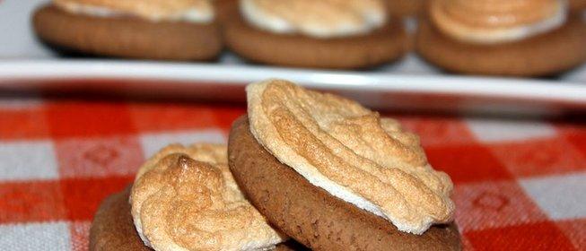 Печенье безе рецепт с фото в духовке