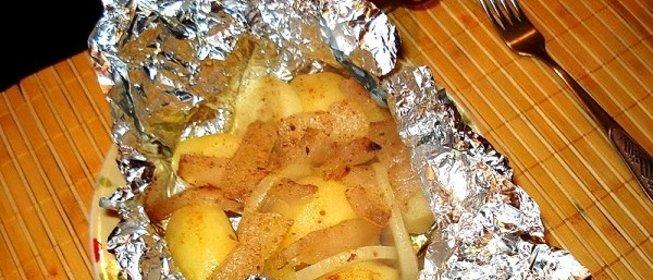 Рецепт сала в духовке в фольге фото