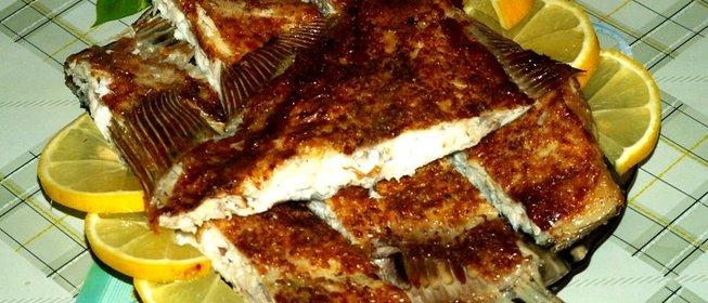 Камбала запеченная фольге рецепт с фото