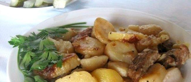 Простые блюда из картошки без мяса