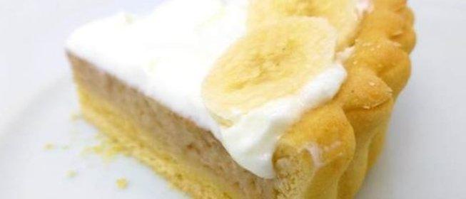 Банановый пирог с и пошагово