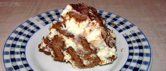 Творожные десерты с печеньем рецепты