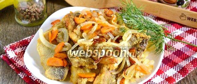 Рецепт минтая жареного с луком и морковью