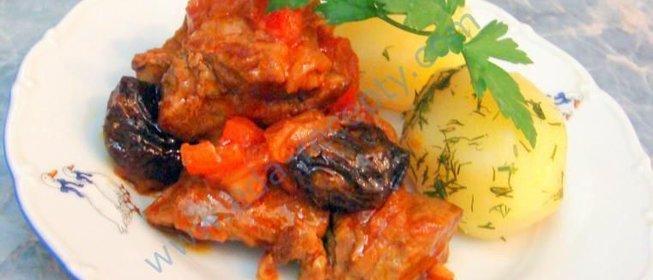 Фото рецепт блюда из говядины пошаговый рецепт