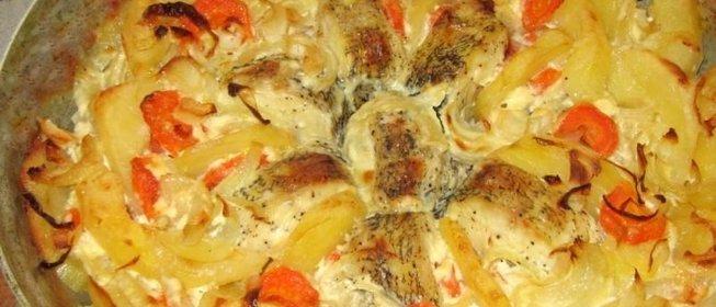Филе щука в духовке рецепты с пошаговый рецепт