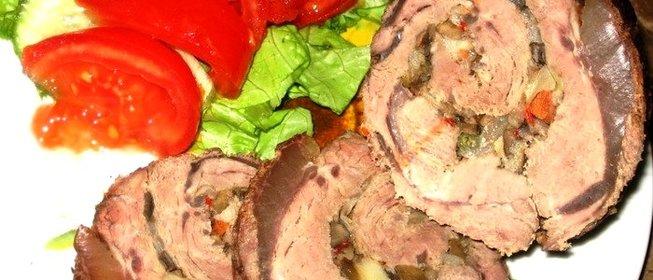 Рулеты из говядины рецепты в духовке