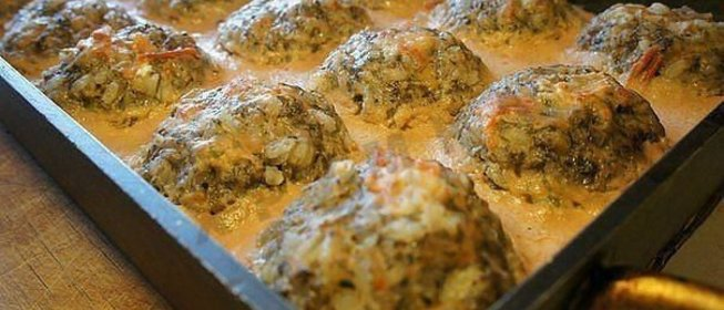 Тефтели в духовке с подливкой из сметаны рецепт пошагово