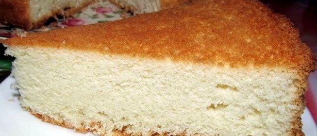 Как сделать бисквитное тесто на торт