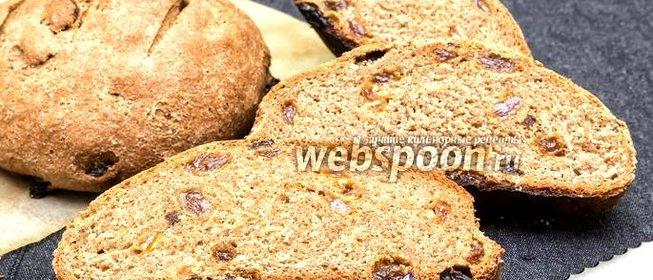 Рецепт хлеба с изюмом