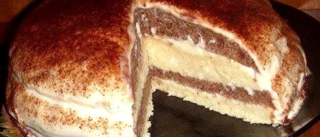 Простые торты со сметанным кремом рецепты