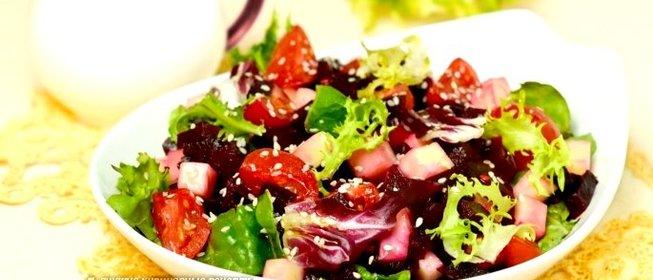 Салат с моцареллой рецепт с фото пошагово