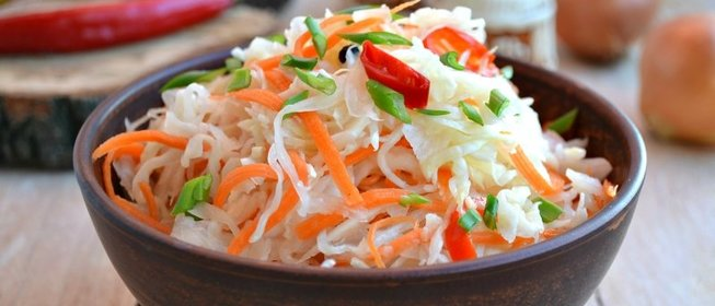 Рецепт вкусной капусты быстрого приготовления фото