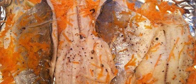 Запечь рыбу в духовке пошагово
