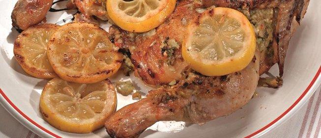 Запеченный цыпленок пошаговый рецепт