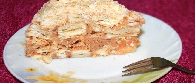 Рецепт торта наполеона с пошаговым приготовлением и