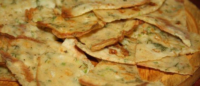 Блины с сыром и чесноком рецепт пошагово