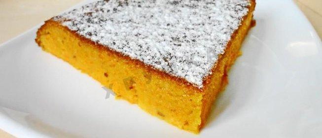Морковный пирог рецепт простой с фото