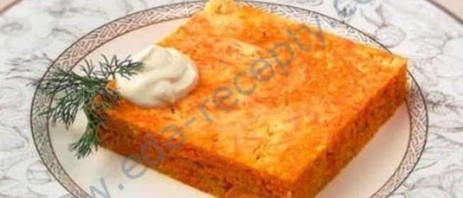 Запеканка из моркови рецепты