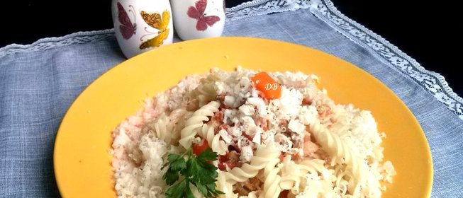 Макароны с сыром и фаршем рецепт пошагово в духовке