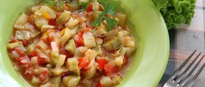 Вкусное рагу из кабачковы с фото простые и вкусные