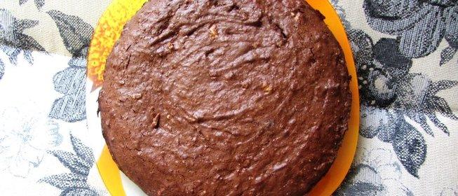Шоколадный брауни простой
