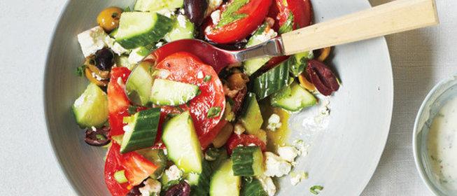 Летние простые салаты на каждый день рецепты