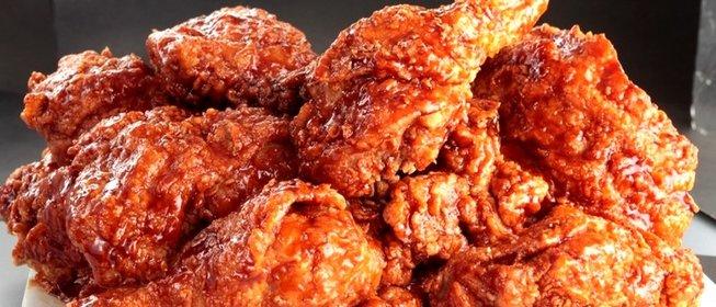 Филе курицыы жаренное