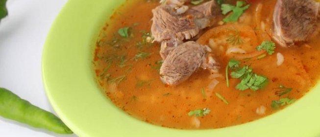 Пошаговый фото-рецепт приготовления настоящего «супа Харчо ...