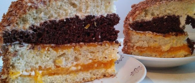 Торт сметанный рецепт фото рецепт пошаговый