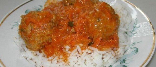 домашние тефтели с рисом рецепт с фото