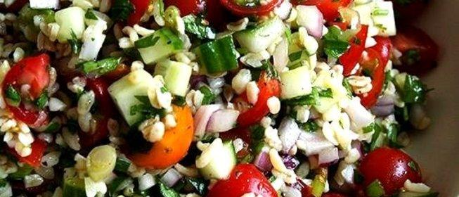 Фото рецепт салат вегетарианский