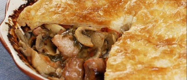 Фото рецепт запеканки с мясом пошаговый