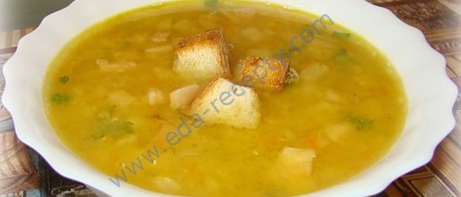 Суп с чечевицы рецепт с фото пошагово