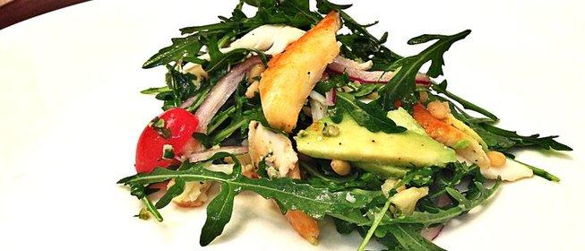 Салат из мяса краба рецепт с фото