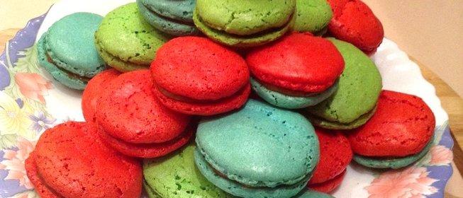 Как сделать печенье макарон в домашних