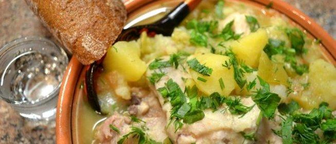 Рецепты в горшочках курица с картофелем