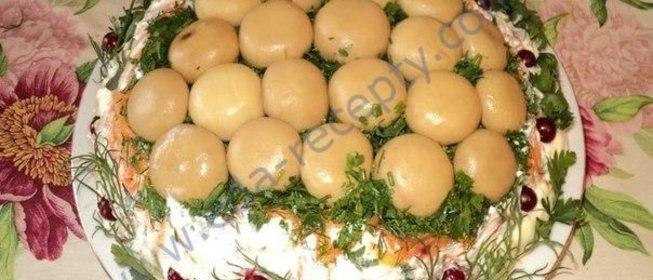 Форум салат грибная полянка с пошаговыми фотографиями