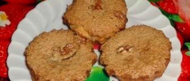 Кекс с орехами рецепт с фото пошагово