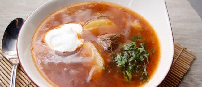 Рецепты супа из говядины