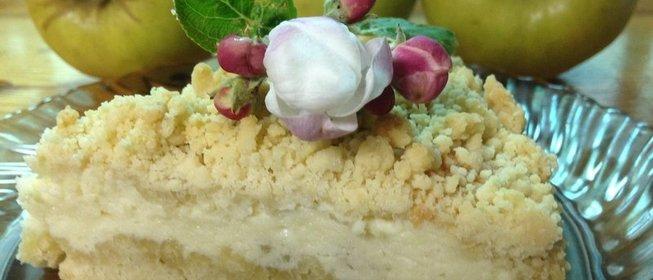 Пирог яблоневый цвет рецепт фото