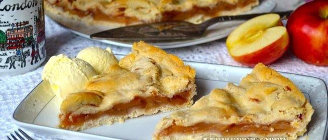 Вкусный яблочный пирог рецепты с пошаговым