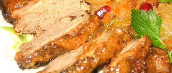 Утка тушеная пошаговый рецепт с