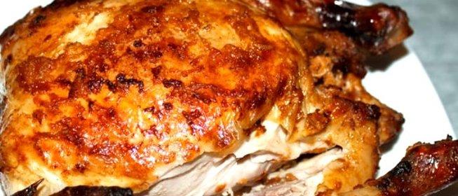Рецепт курицы в духовке с золотистой корочкой рецепт