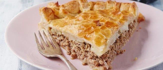 Пирог со свининой пошаговый рецепт с