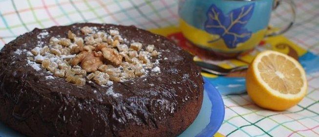 Шоколадный кекс в мультиварке рецепты с фото