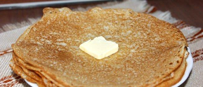 Простой рецепт блинчиков на молоке с фото
