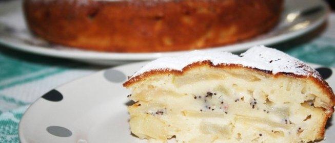Рецепты яблочного пирога в мультиварке с фото